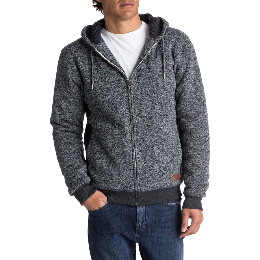 Quiksilver Keller Sherpa Fleece Jacket - Mens