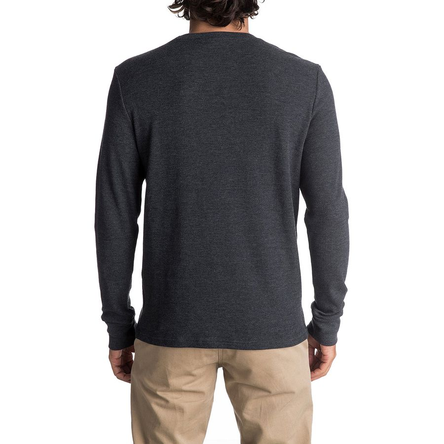 Quiksilver thin mark thermal long sleeve t shirt men 39 s for Thin long sleeve t shirts