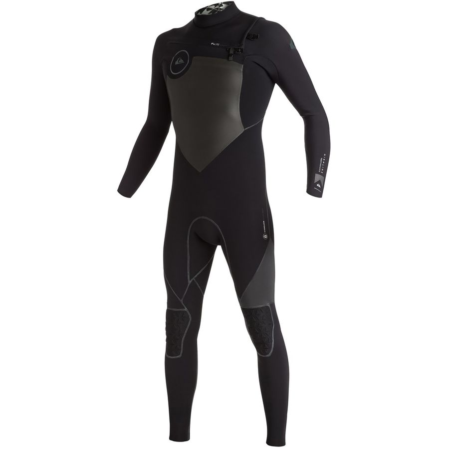 Quiksilver 4/3 Highline Performance Chest Zip Wetsuit - Mens