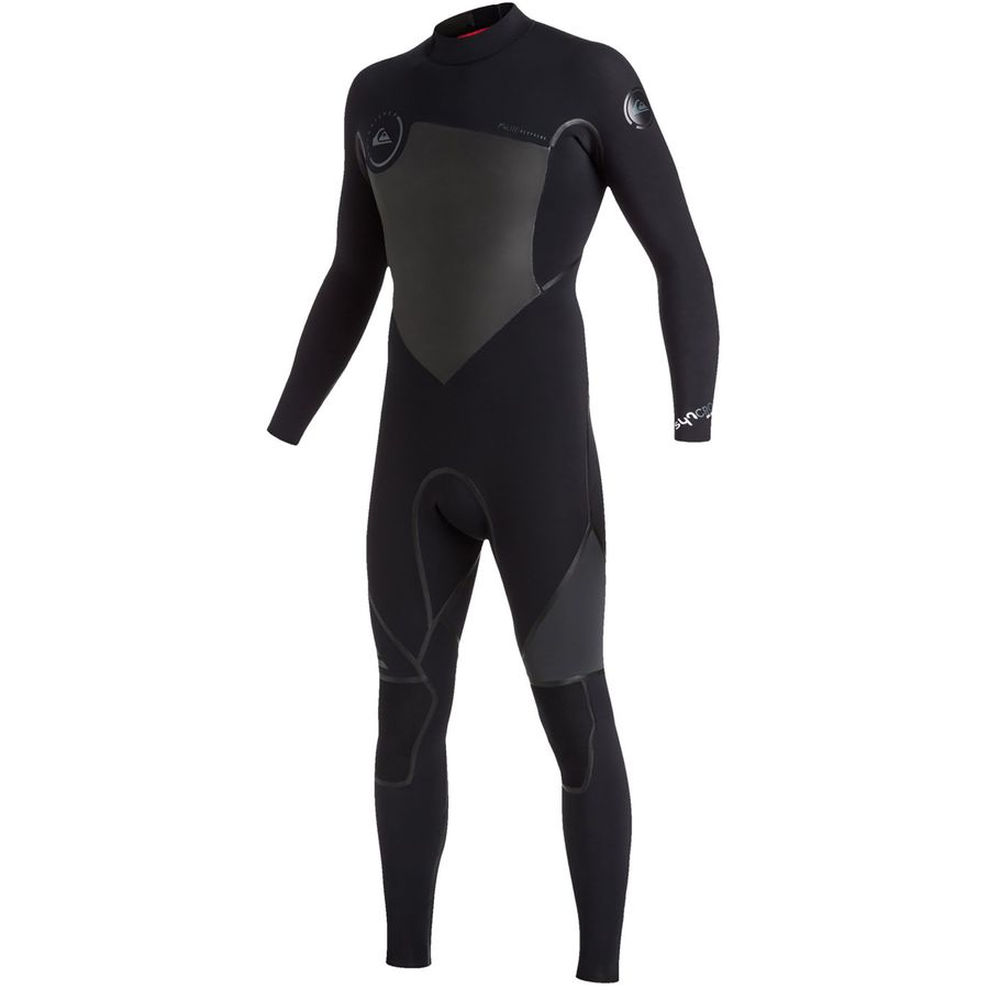 Quiksilver 4/3 Syncro Back Zip Wetsuit - Mens