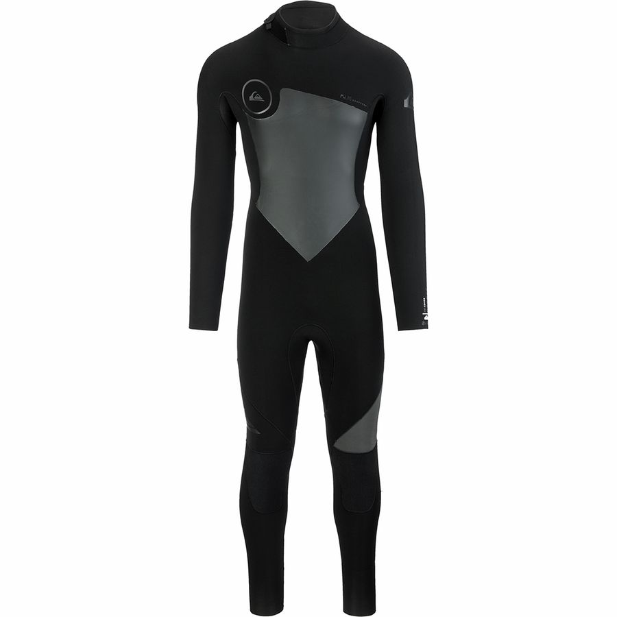Quiksilver Syncro 5/4/3 Back Zip GBS Wetsuit - Mens