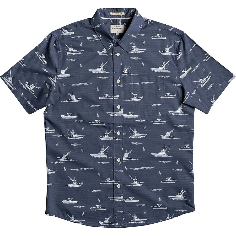 Quiksilver Fishboats Shirt - Mens