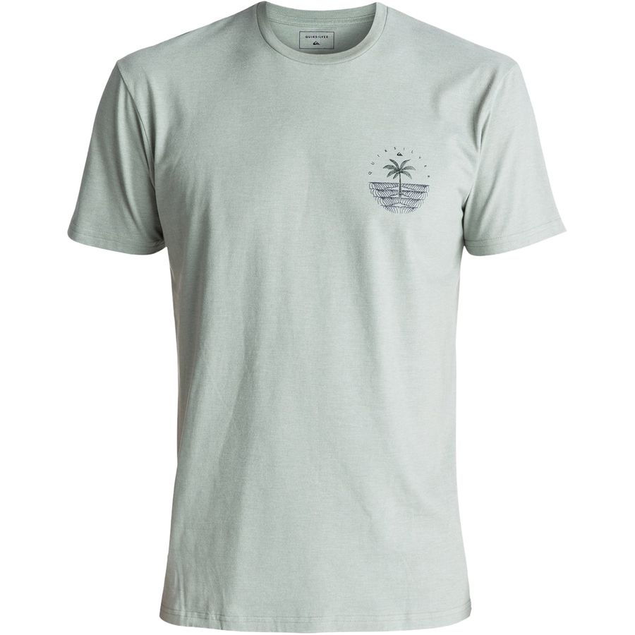 Quiksilver Single Palm T-Shirt - Mens