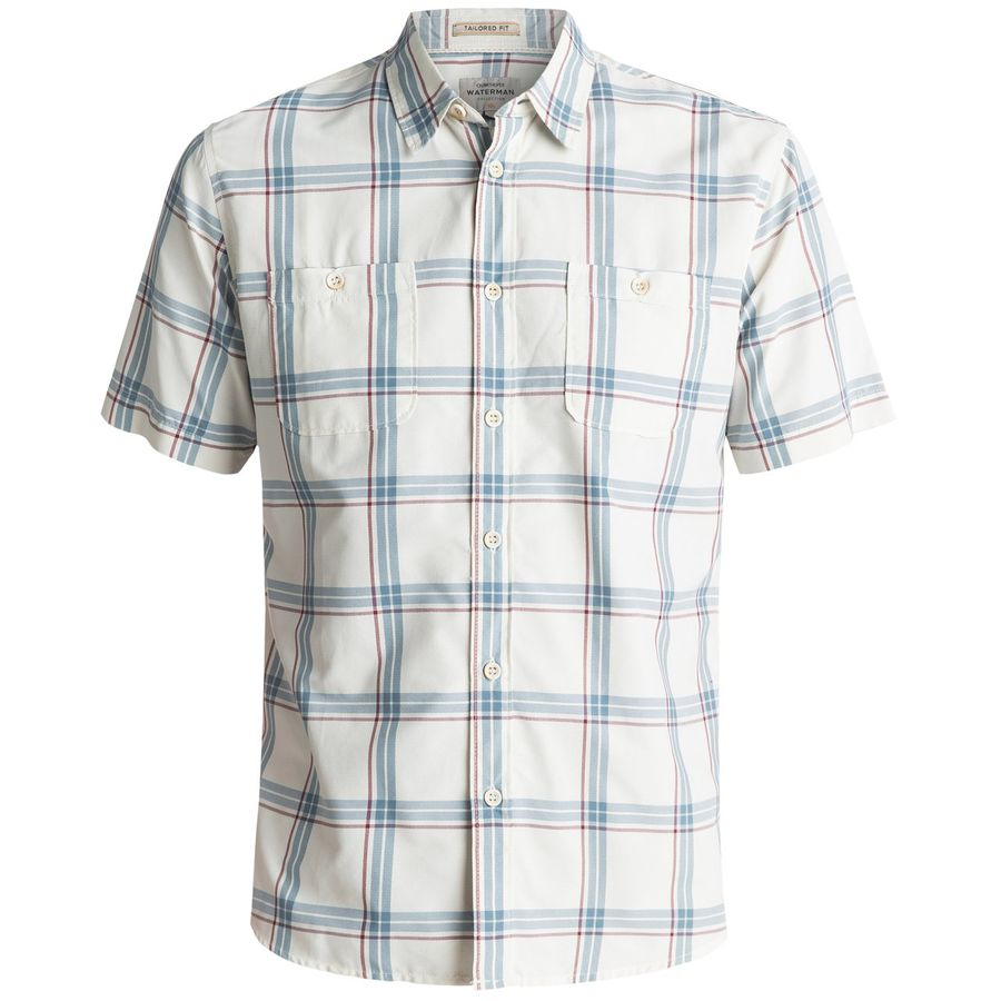 Quiksilver Waterman Island Job Button-Down Shirt - Mens