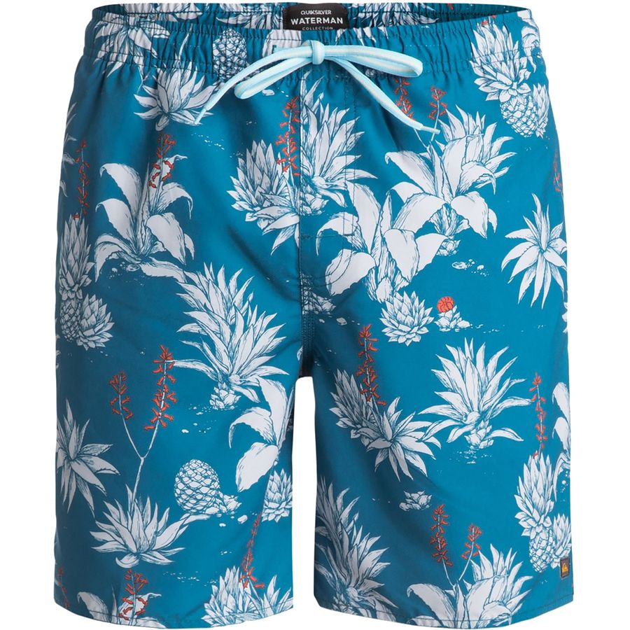 Quiksilver Waterman Agavy Volley Swim Trunk - Mens
