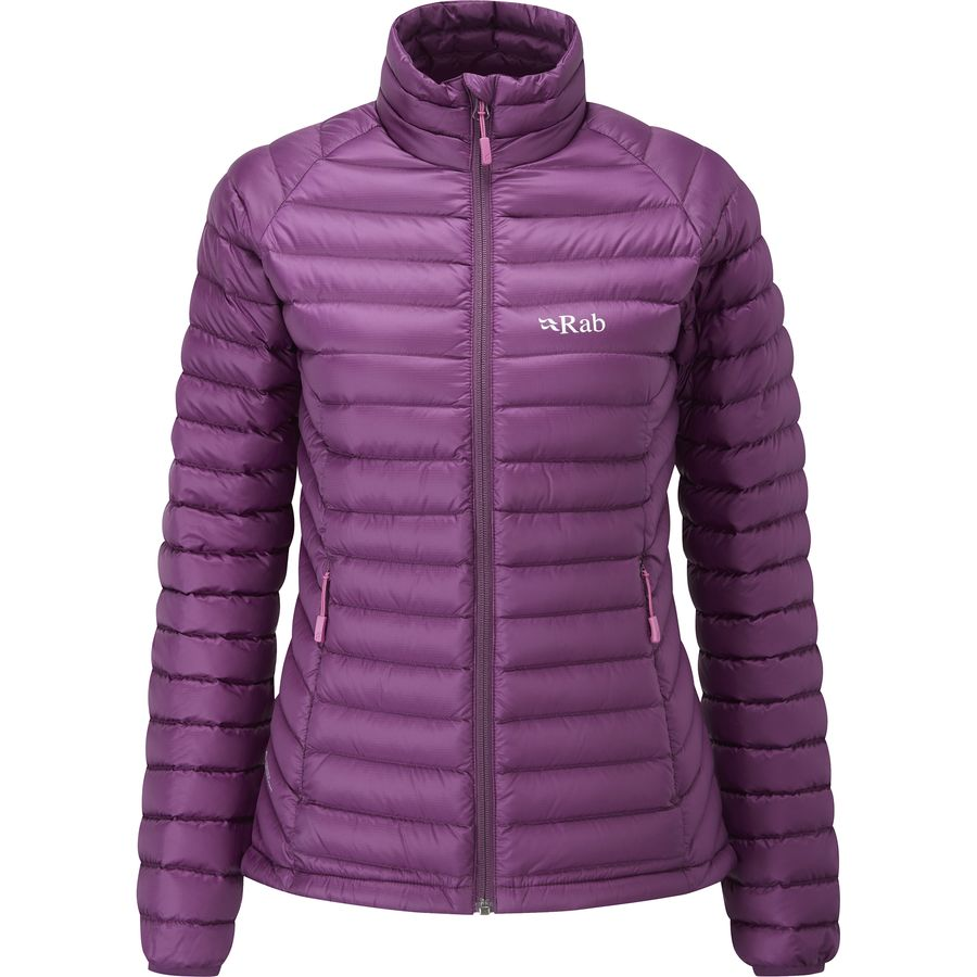 Rab microlight alpine jacket women's twilight