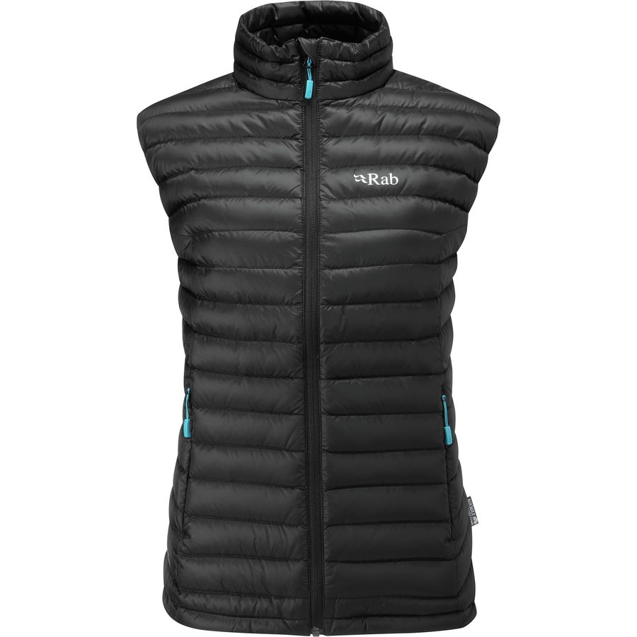 b9c38ccbd63b Rab - Microlight Down Vest - Women s - Black Seaglass