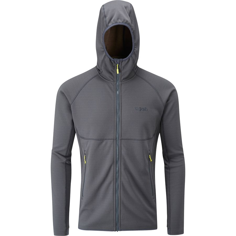 Rab Focus Hooded Fleece Jacket - Mens