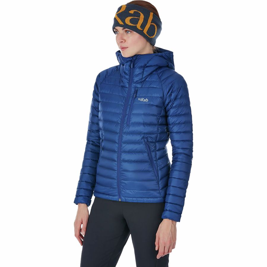 ad16f8dc4565 Rab - Microlight Alpine Down Jacket - Women s - Blueprint Celestial