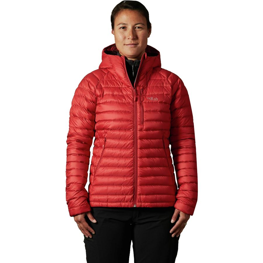7e3f7ec7f28a Rab - Microlight Alpine Down Jacket - Women s - Dark Horizon Eggplant