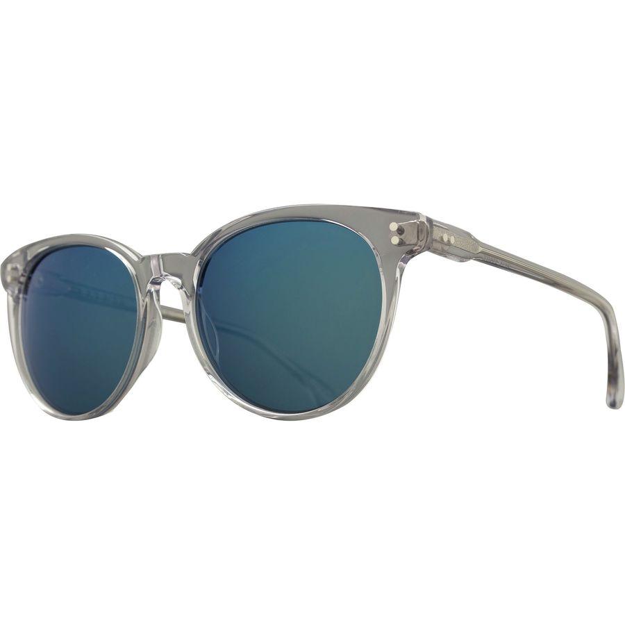608bd78796 RAEN optics - Norie Sunglasses - Arctic Crystal Smoke Blue Mirror