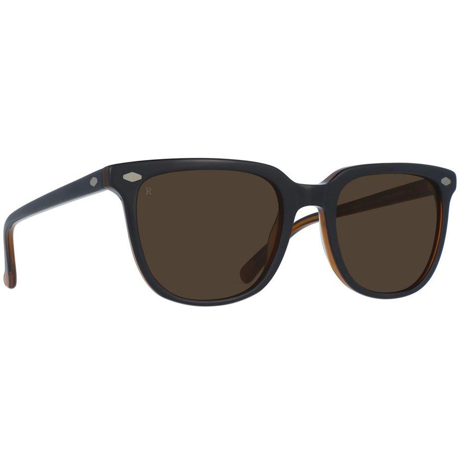 90dc6ccddd41 RAEN optics - Arlo Sunglasses - Black And Tan Brown