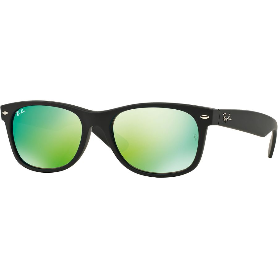 Ray Ban Wayfarer Black Rubber Frame | Louisiana Bucket Brigade