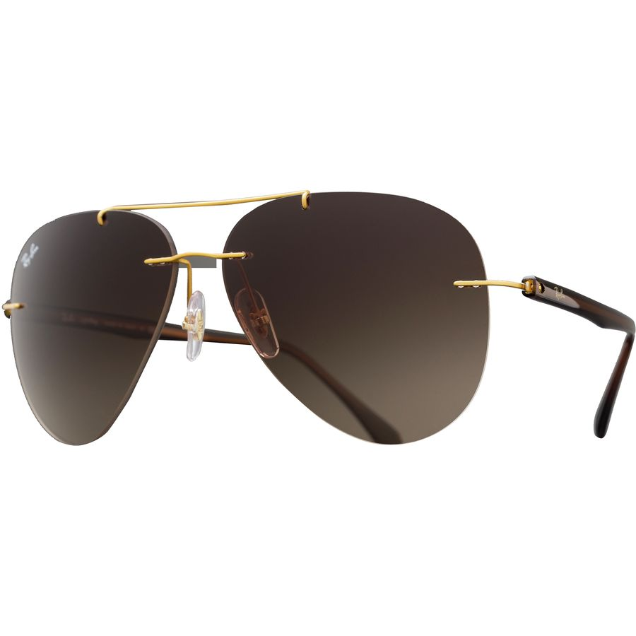 3fa5f4a411 Ray-Ban - RB8058 Sunglasses - Brushed Gold Brown Gradient