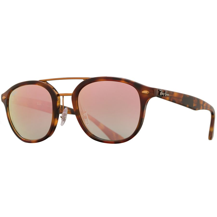 86d9e5ea84f01 Ray-Ban - RB2183 Sunglasses - Top Havana Brown Yellow Pink Gradient Mirror