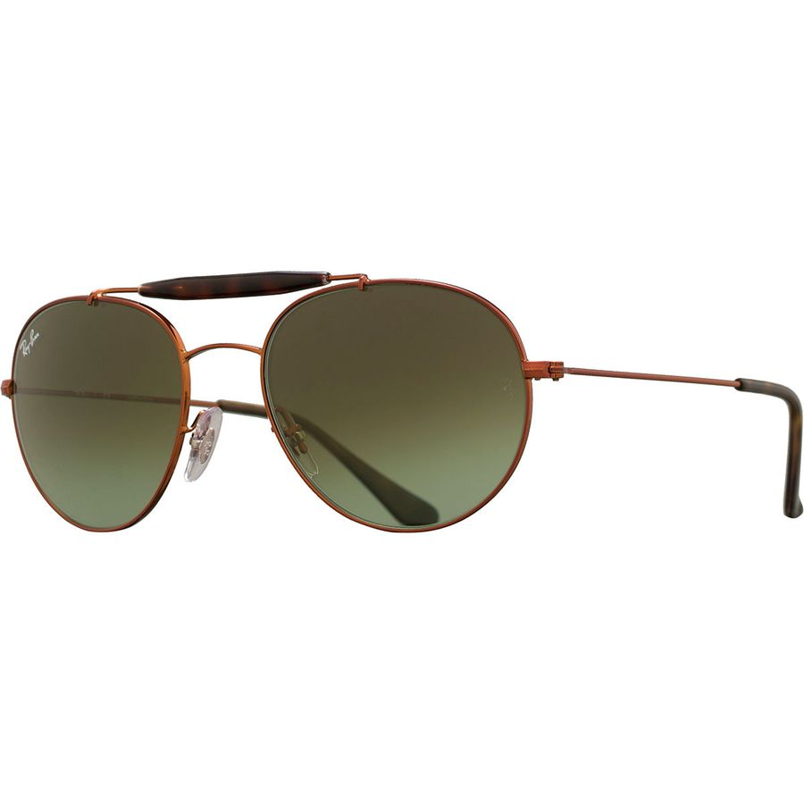 ea44c37be4 Ray-Ban - RB3540 Polarized Sunglasses - Medium Bronze Green Gradient