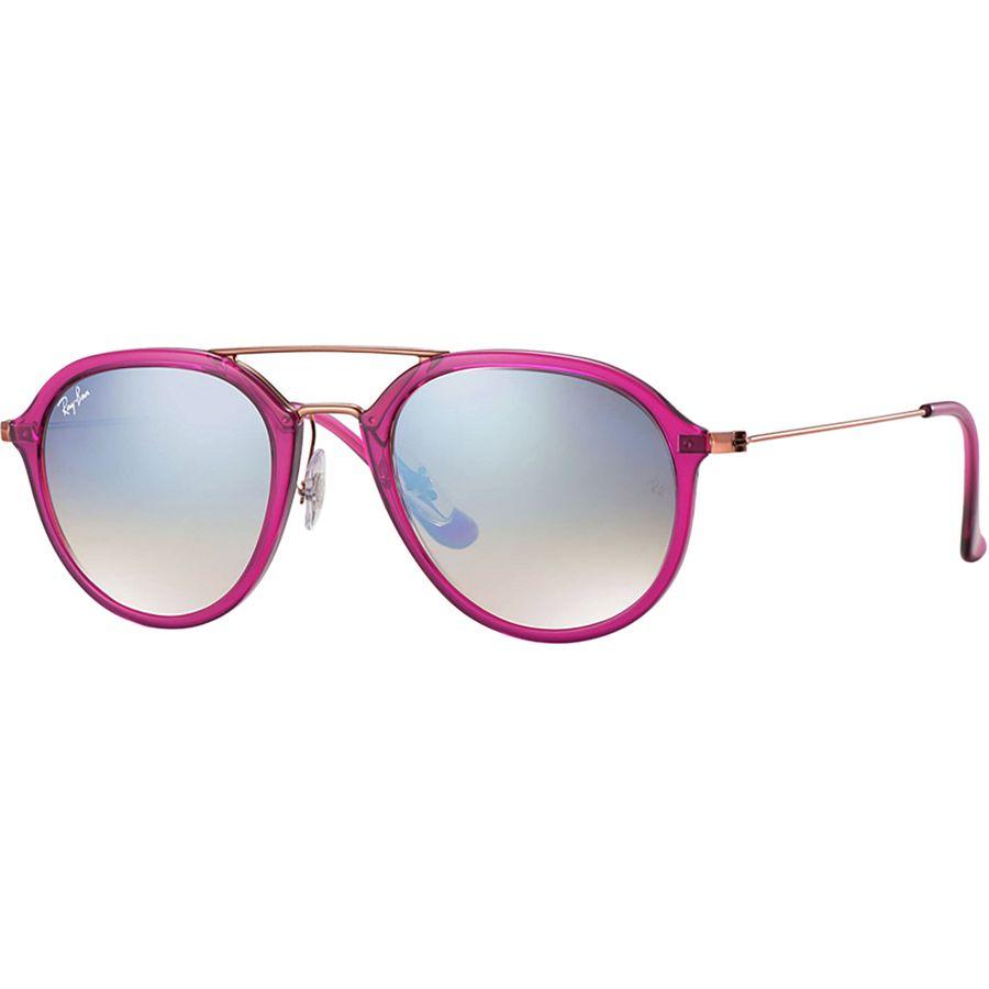 c9d9fffb54931 Ray-Ban - RB4253 Sunglasses - Shiny Fuxia Bronze-Copper Silver Gradient