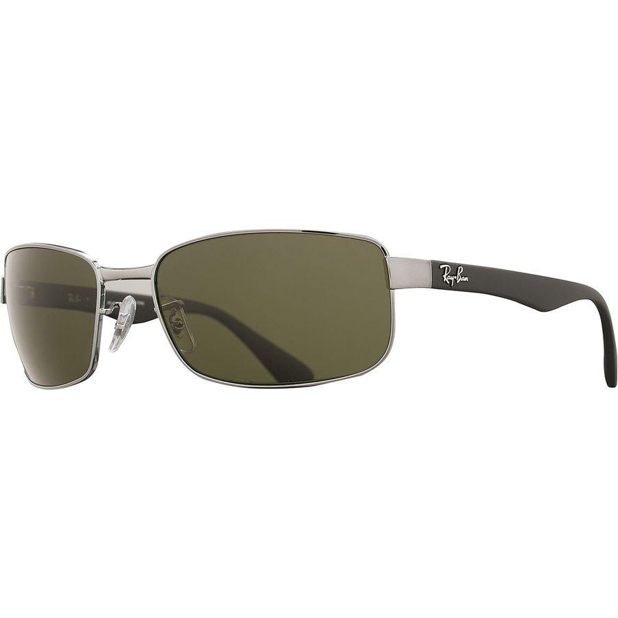 fd2bec288a48a Ray-Ban - Original Gunmetal Square Sunglasses - Black Frames Polar Green  Lens