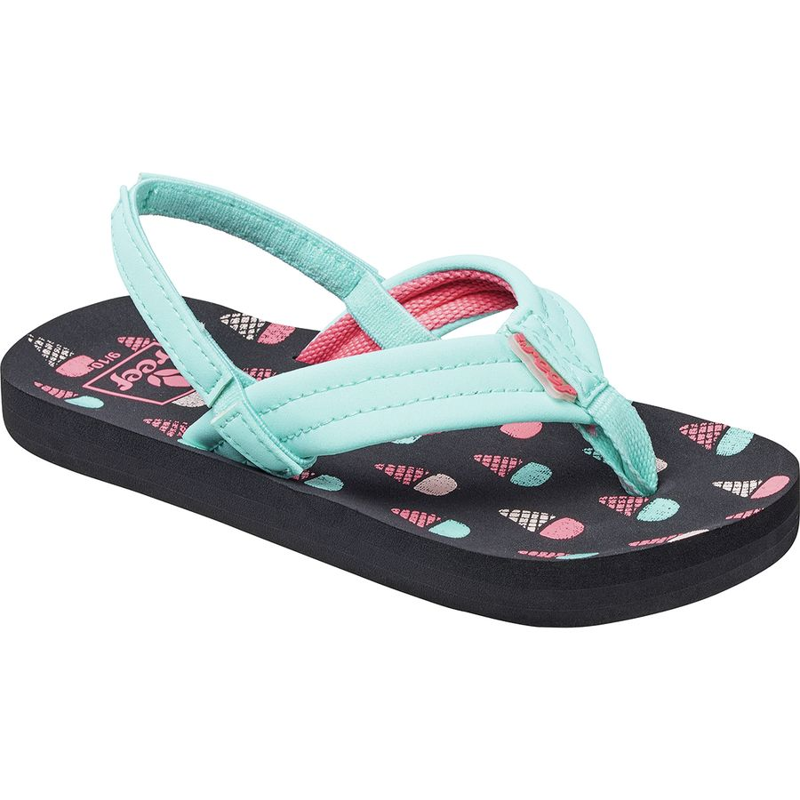 5a710f537416 Reef - Little Ahi Sandal - Toddler Girls  - Ice Cream