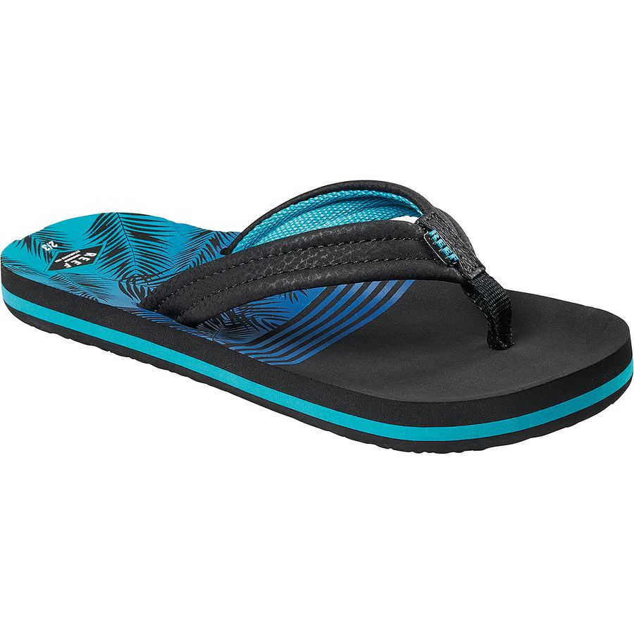 Reef Boys Ahi Sandals Blue Horizon Waves Reef Boys/' Shoes