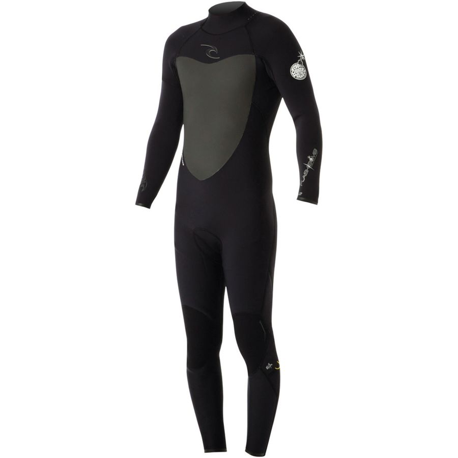 Rip Curl 4/3 Flash Bomb Back Wetsuit - Mens