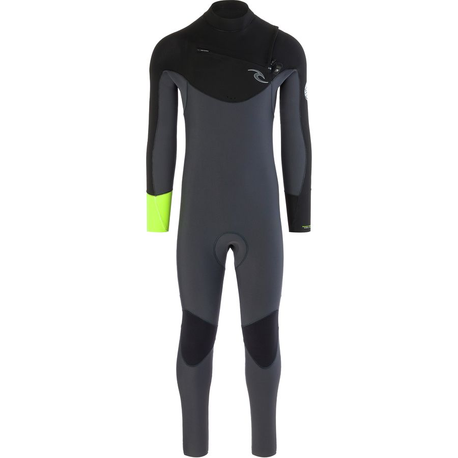 Rip Curl Dawn Patrol 3/2 Chest-Zip Wetsuit - Mens