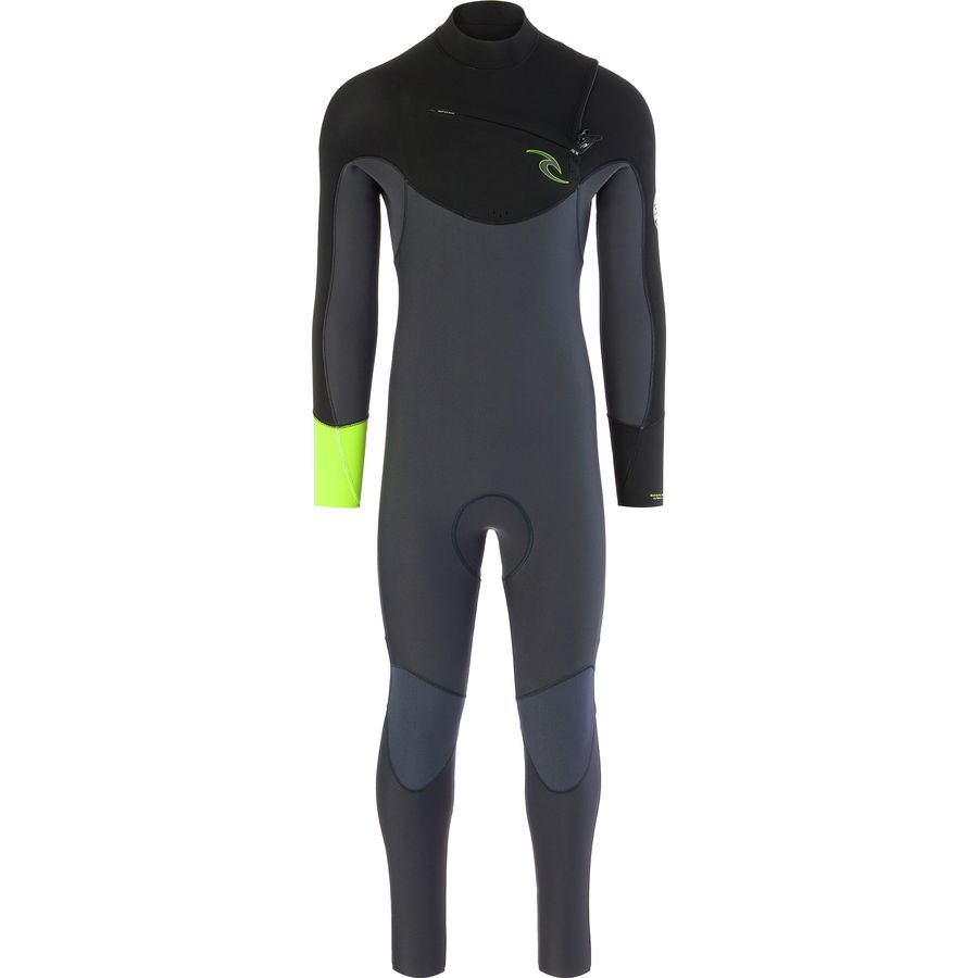 Rip Curl Dawn Patrol 4/3 Chest-Zip Full Wetsuit - Mens