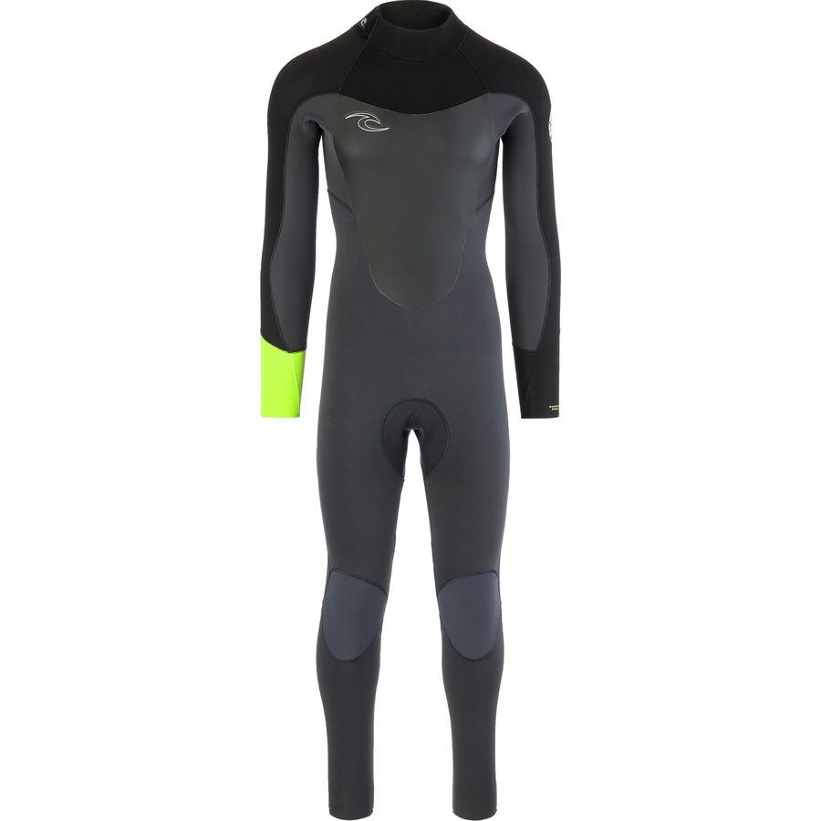 Rip Curl Dawn Patrol 3/2 Back-Zip Full Wetsuit - Mens