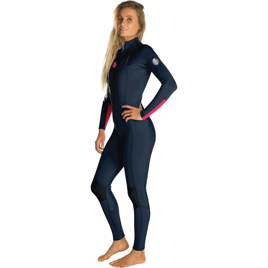 Rip Curl Dawn Patrol 3 2 Chest-Zip Full Wetsuit - Women s ... b0a7a4d8a