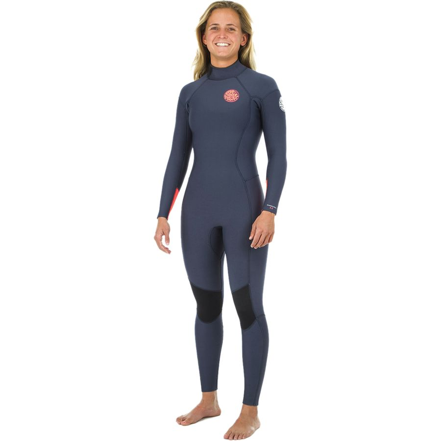 Rip Curl Dawn Patrol 3 2 Back-Zip Full Wetsuit - Women s ... b230d766f