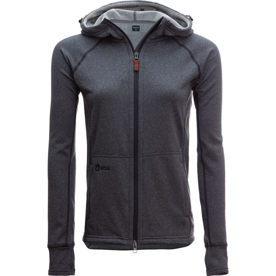 ROJK Superwear PrimaLoft Drifter Hooded Fleece Jacket - Womens