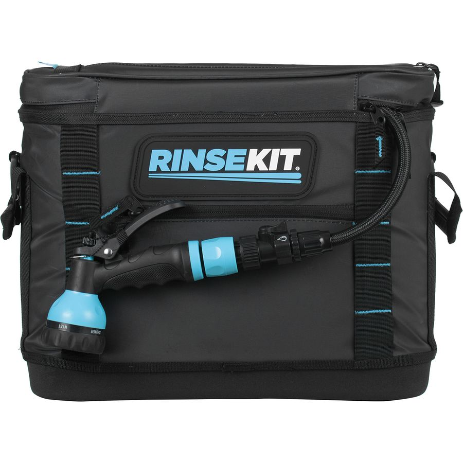RinseKit Lux Soft Tote Pressurized Portable Shower Hose ...