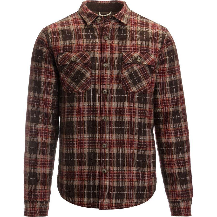 Roark Revival Jamie Thomas Chief Flannel Shirt Jacket - Mens