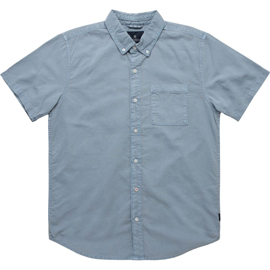 Roark Revival Well Worn Oxford Shirt - Mens