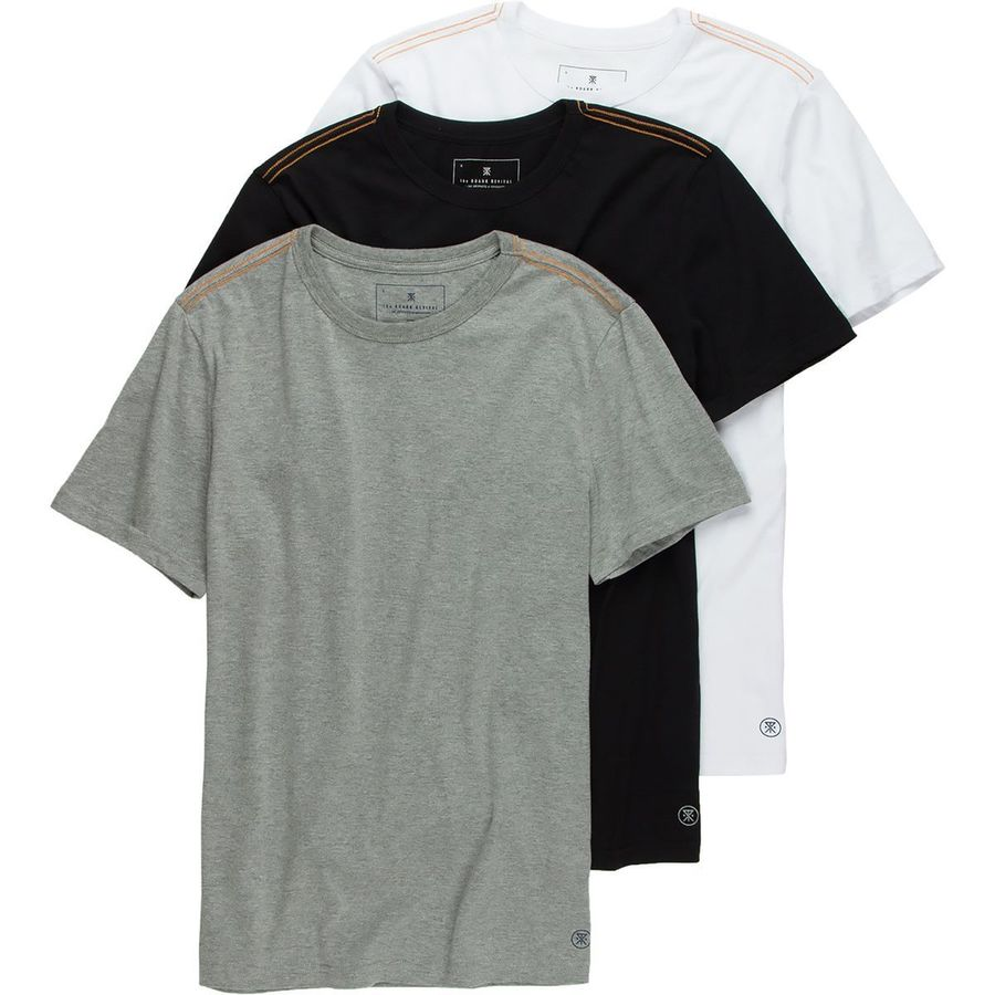 Roark Revival 3-Pack Rat T-Shirt - Short-Sleeve - Mens