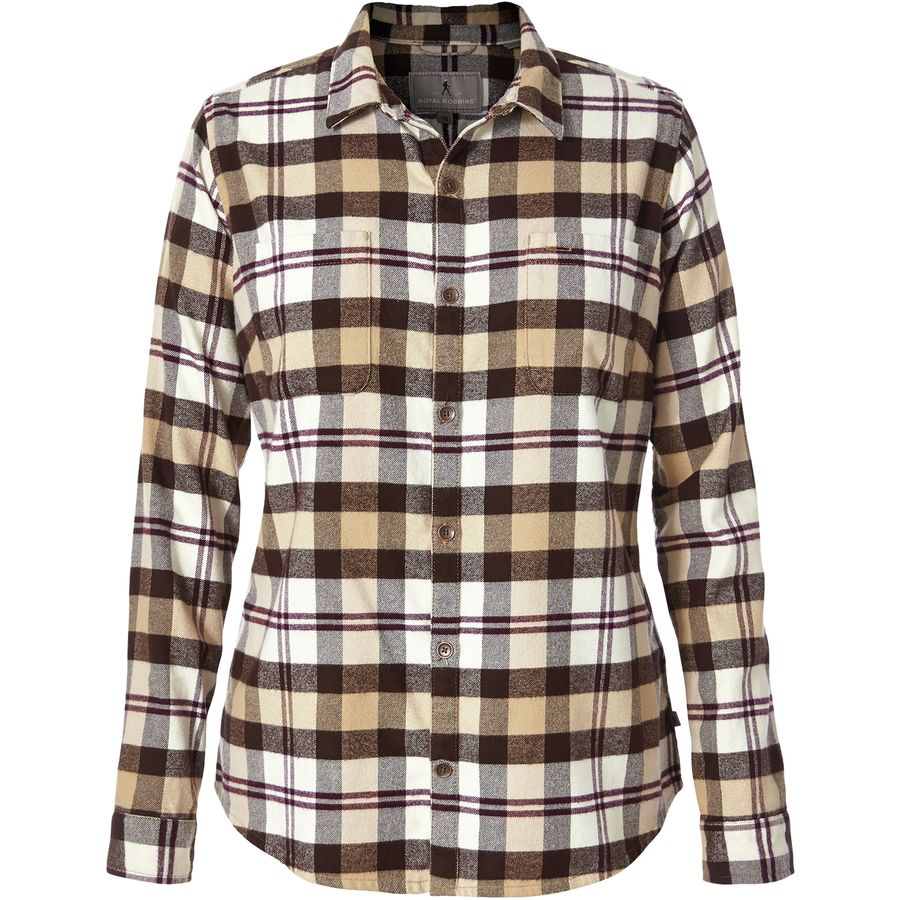 Royal Robbins Lieback Flannel Shirt - Womens