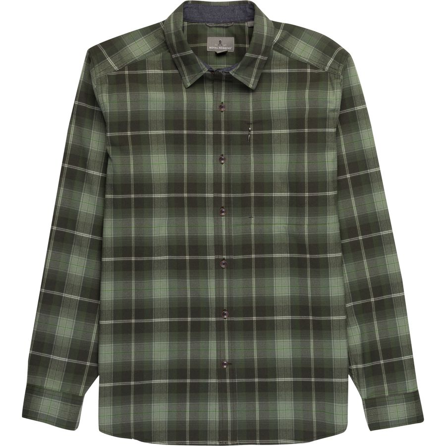 Royal Robbins Merinolux Flannel Shirt - Mens