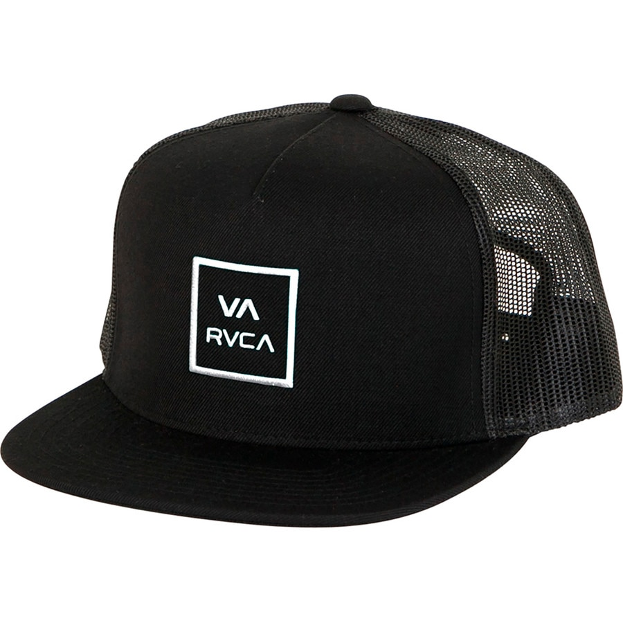 ff8cfd9cd77c7 RVCA - VA All The Way III Trucker Hat - Men s - Black