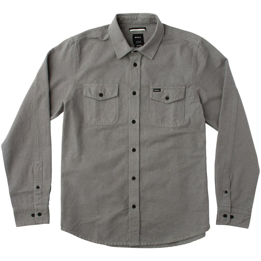 RVCA Backyard Button-Down Shirt - Mens