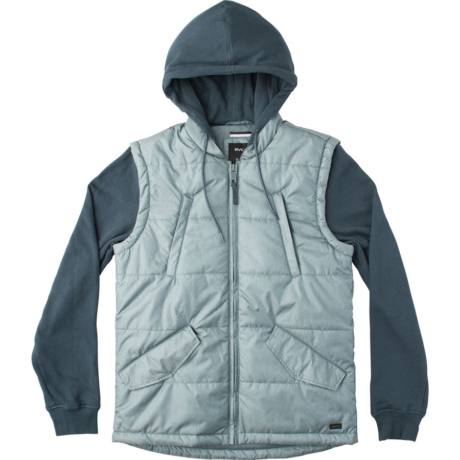 RVCA Puffer Quilted Expedition Insulated Jacket - Mens