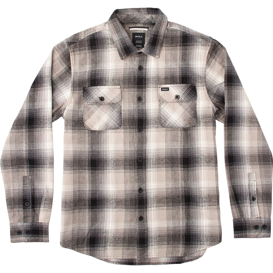 RVCA Highland II Long-Sleeve Flannel Shirt - Mens