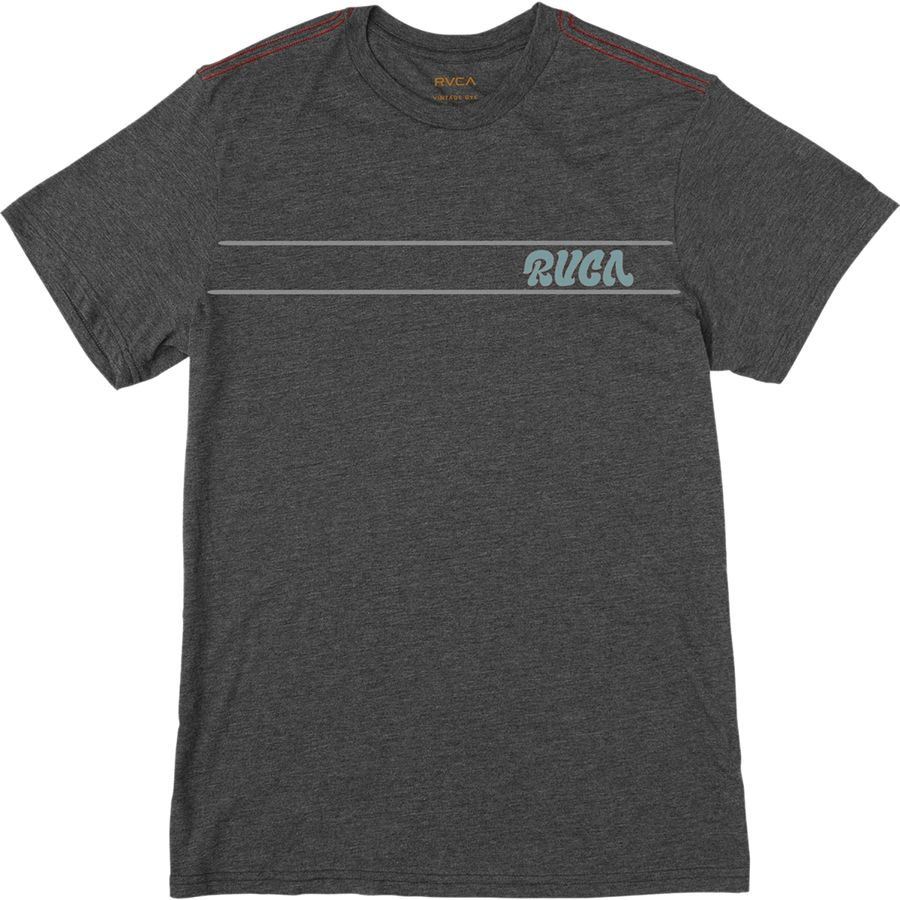 RVCA Script Stripe T-Shirt - Short-Sleeve - Mens
