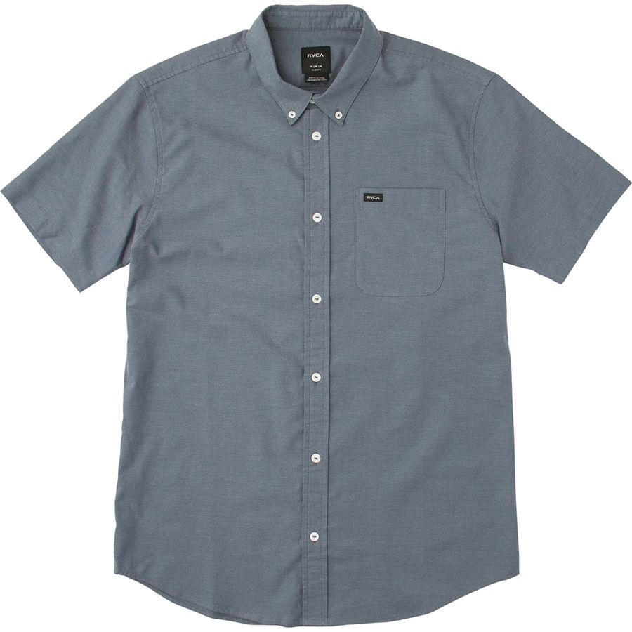 RVCA Thatll Do Stretch Short-Sleeve Shirt - Mens