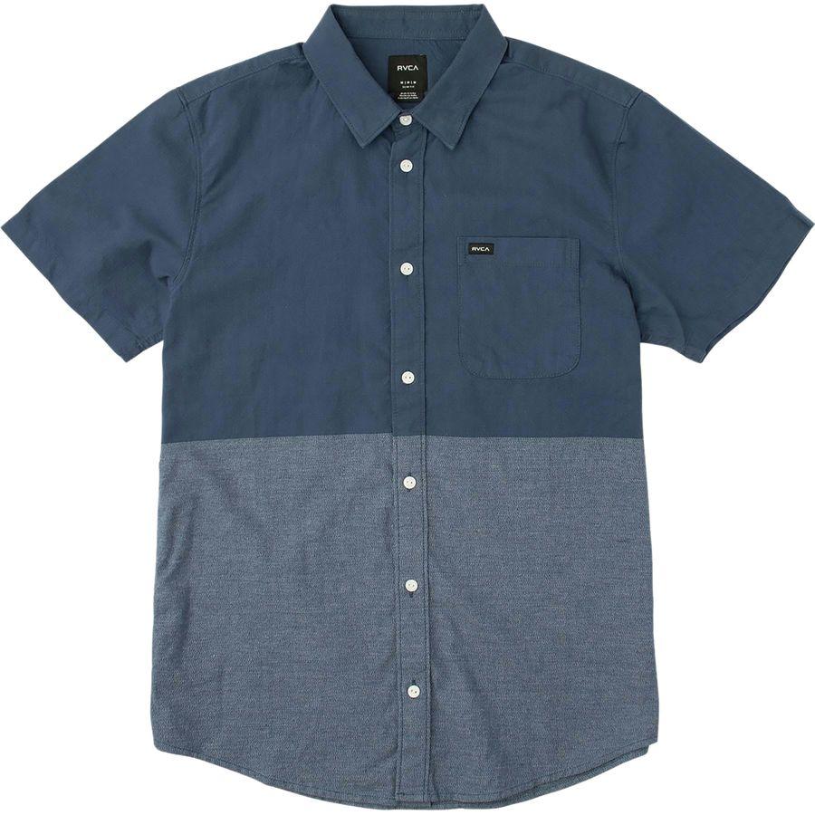 RVCA Big Block Shirt - Short-Sleeve - Mens
