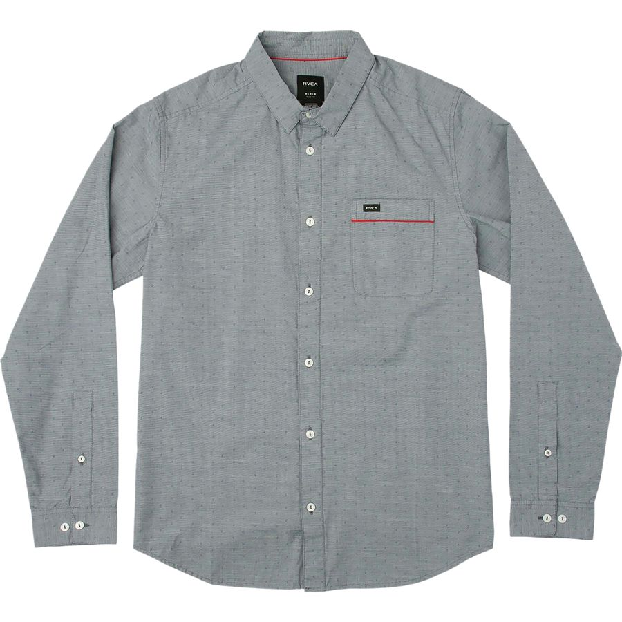 RVCA Star Star Long-Sleeve Shirt - Mens