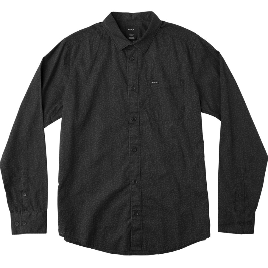 RVCA Cluster Long-Sleeve Shirt - Mens
