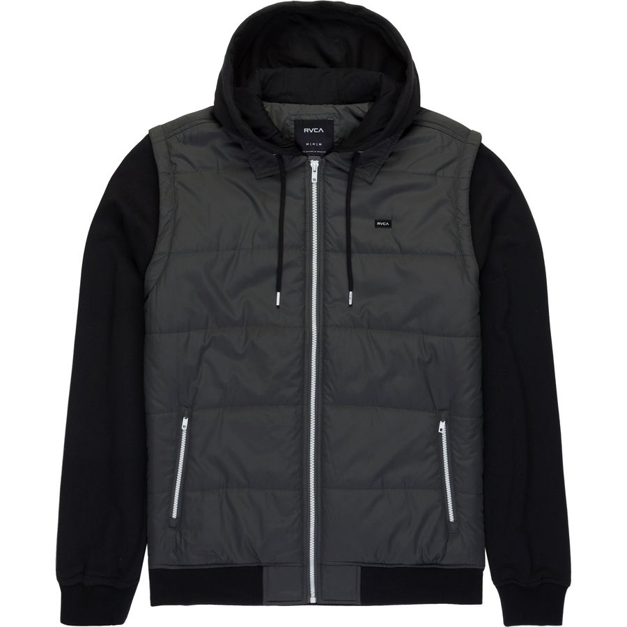 Boys RVCA Puffer Zips Sweatshirt