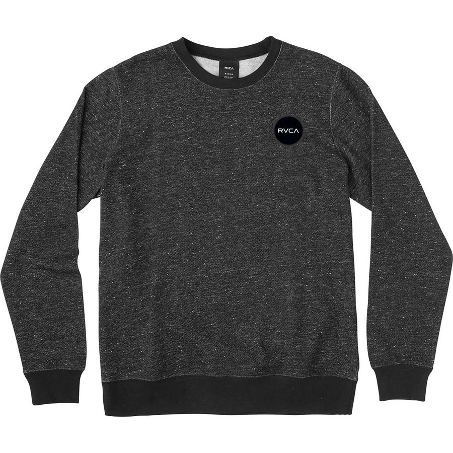 RVCA Motors Speckle Fleece Pullover - Mens