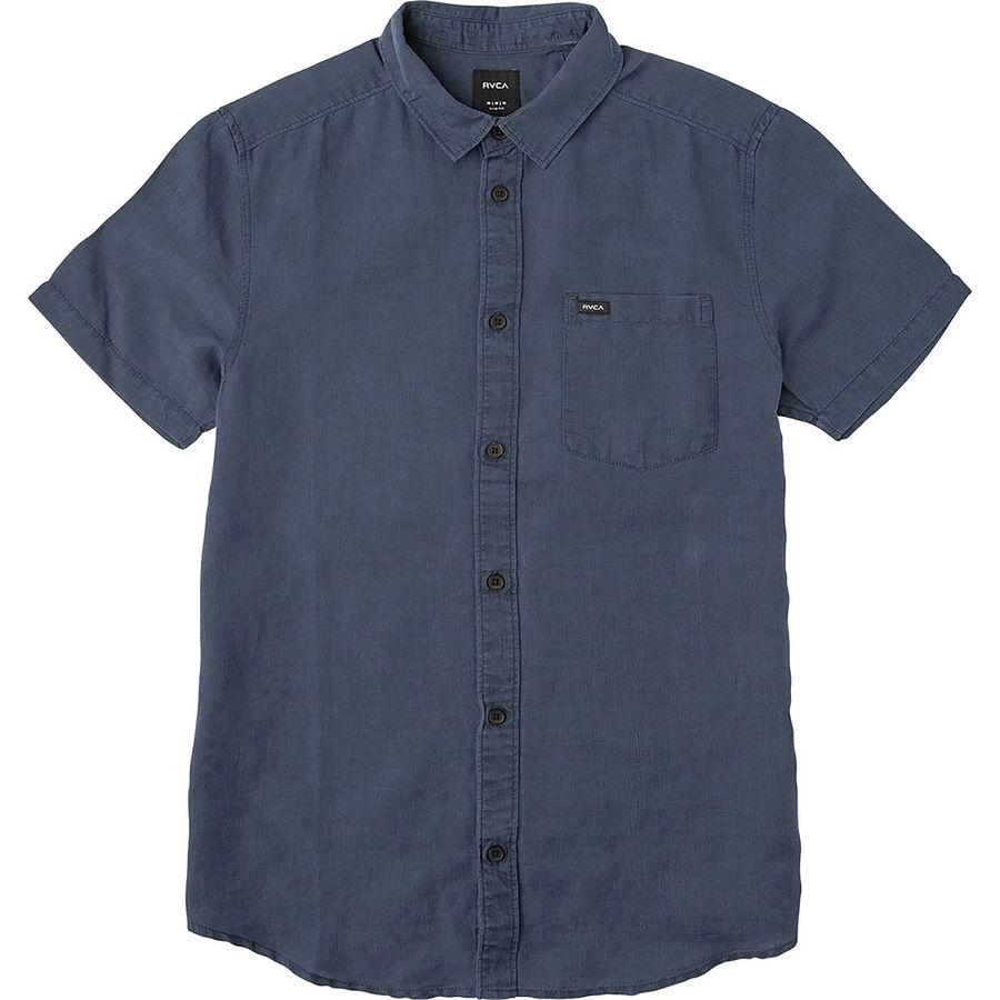 RVCA Crush Short-Sleeve Shirt - Mens