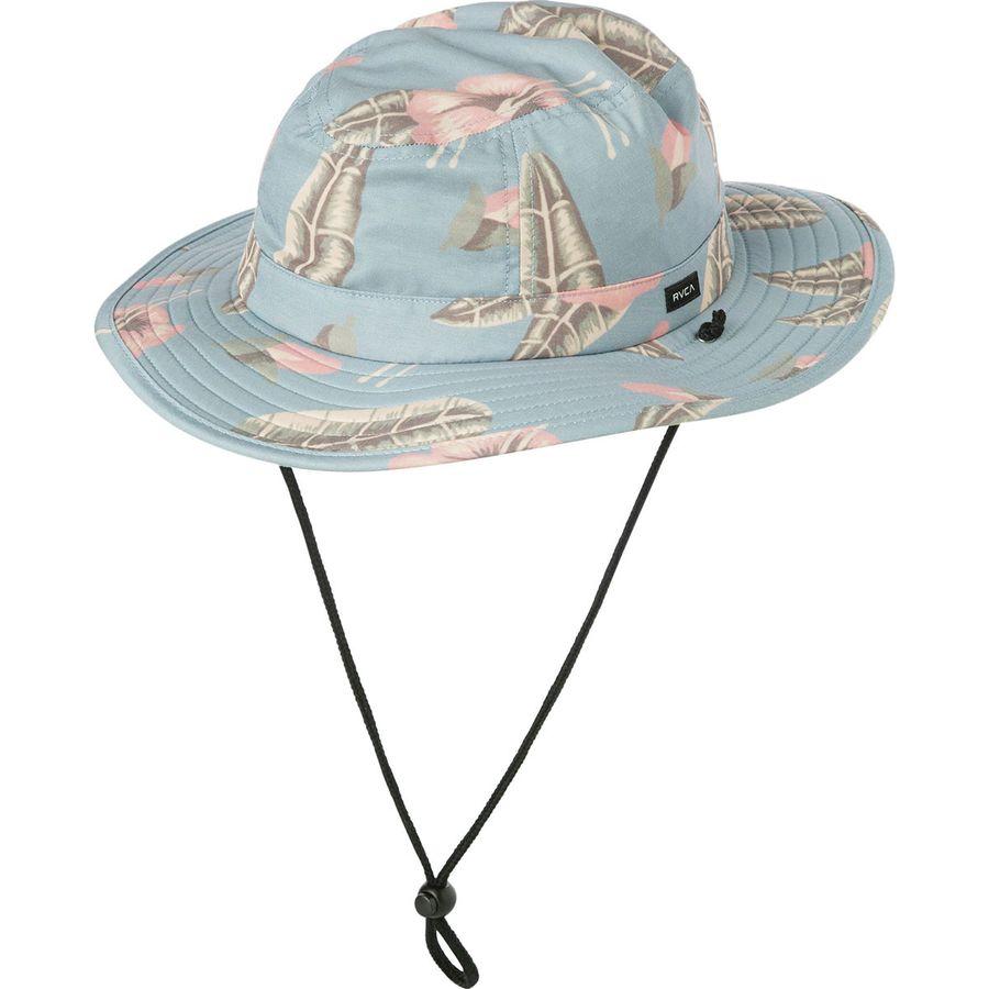 RVCA - Luke Boonie Hat - Men s - Blue d3b336b0f59